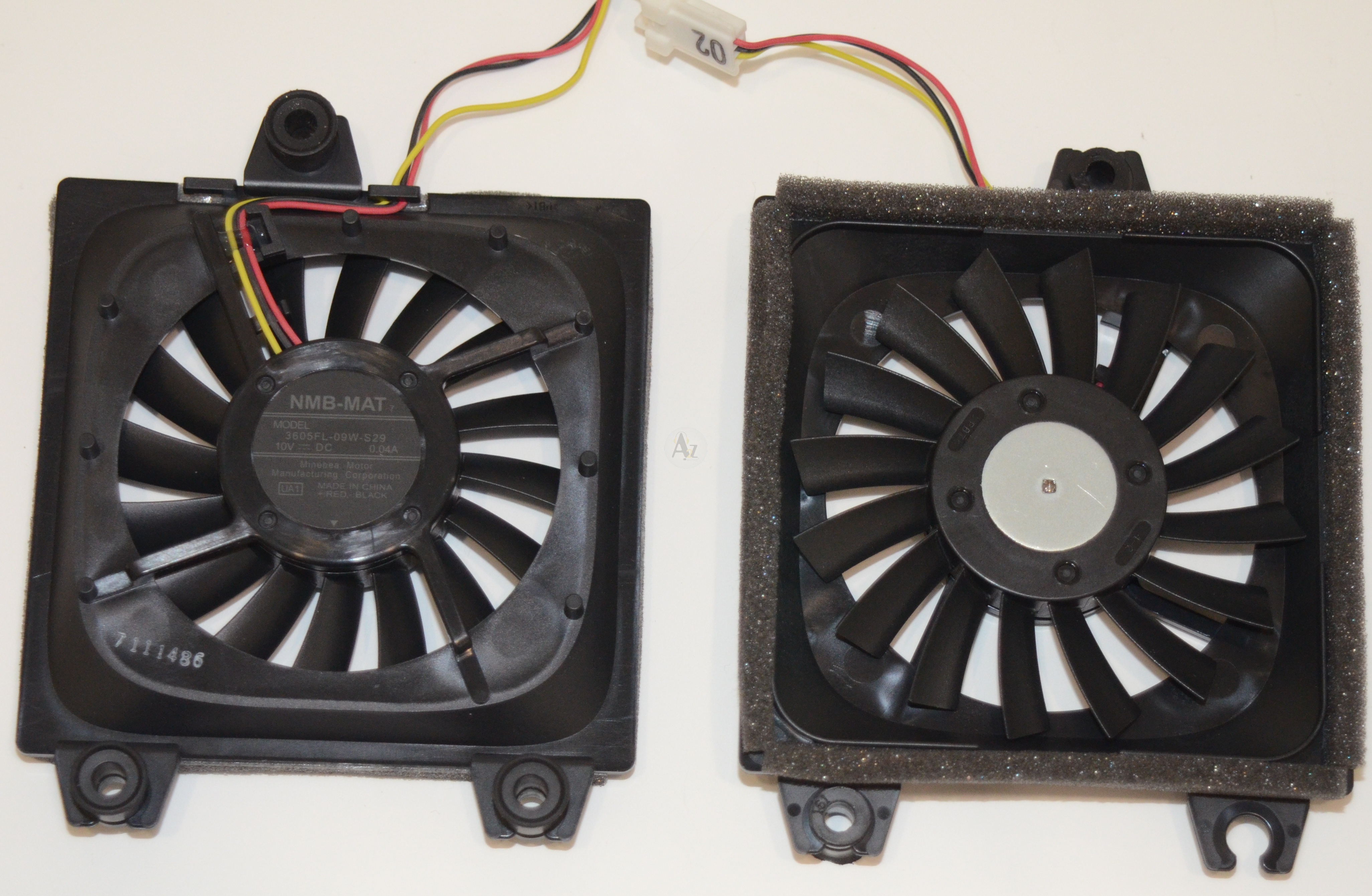 projector a infocus mat lcd pin mats cooling views parts for more three fan nmb