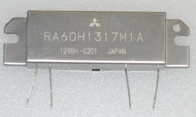 RA60H1317M1A,136-174MHz 60W 12.5V, 2 Stage Amp. For MOBILE RADIO